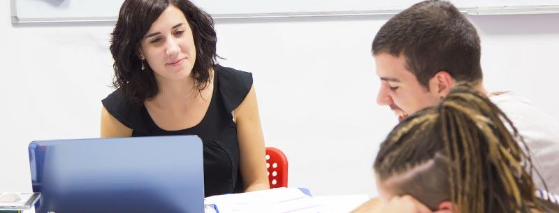 Academia de inglés para jóvenes